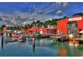 海港,直接热轧制,建筑物,壁纸,