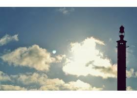 灯塔,建筑物,天空,风景优美的,壁纸,