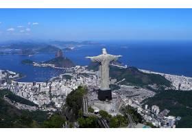 城市,城市,里约,里约热内卢,巴西,Corcovado,壁纸,