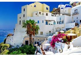 城镇,体系结构,建筑物,希腊,圣托里尼,壁纸,