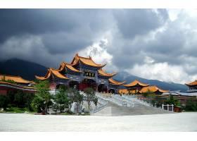 建筑物,建筑物,寺庙,宝塔,中国,壁纸,