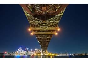 悉尼,海湾,桥梁,桥梁,壁纸,