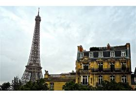 埃菲尔铁塔,塔,遗迹,巴黎,房子,壁纸,