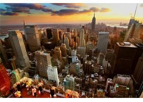城市,城市,城镇,大都市,建筑物,摩天大楼,天空,云,壁纸,(1)