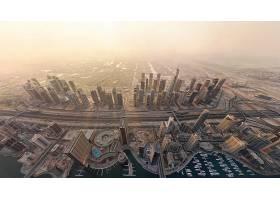 迪拜,城市,一致的,阿拉伯人,阿联酋航空公司,城市,壁纸,