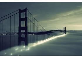 金色的,大门,桥梁,桥梁,壁纸,