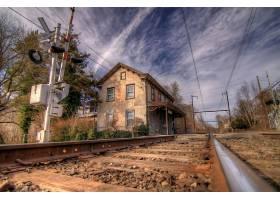 铁路,直接热轧制,壁纸,