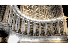 千禧年,纪念碑,体系结构,建筑物,地方,直接热轧制,夜晚,灯光