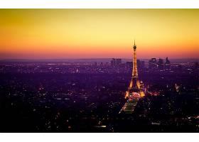 埃菲尔铁塔,塔,遗迹,法国,城市,巴黎,灯光,壁纸,