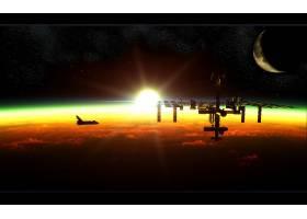 美国宇航局,宇宙飞船,航天飞机,壁纸,