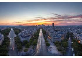 城市,城市,城市风光,日落,壁纸,