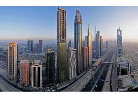 迪拜,城市,一致的,阿拉伯人,阿联酋航空公司,壁纸,(1)