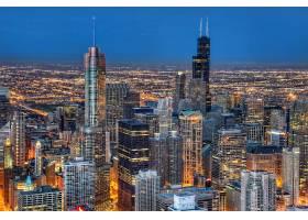 城市,城市,城市风光,灯光,夜晚,体系结构,建筑物,摩天大楼,