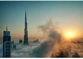 迪拜,城市,一致的,阿拉伯人,阿联酋航空公司,壁纸,(5)