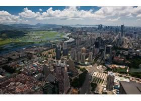 城市,城市,城镇,大都市,建筑物,摩天大楼,天空,云,城市风光,