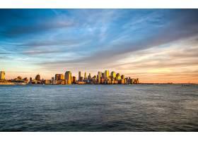 城市,城市,城镇,大都市,建筑物,摩天大楼,天空,云,新建,约克