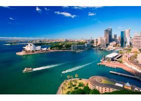 悉尼,城市,澳大利亚,悉尼,避难所,悉尼,歌剧,房子,圆形,码头