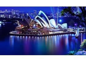 悉尼,歌剧,房子,壁纸,(1)