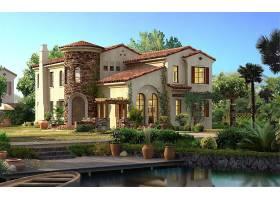 房子,建筑物,壁纸,(146)