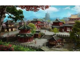 创意网页游戏中国风场景设计