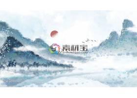 唯美中国水墨丹青意境装饰画