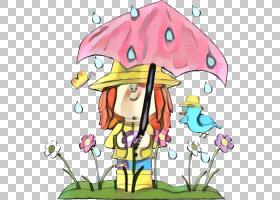夏花背景,野花,儿童艺术,蘑菇,卡通,绘画,夏天,花,季节,四月阵雨,