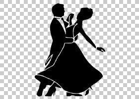 舞厅舞蹈剪影,拉丁舞,摇摆,萨尔萨舞,表演艺术,活动,黑白,剪影,我