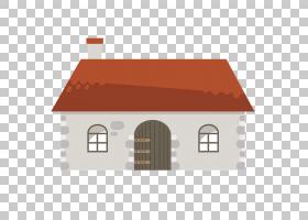 夏日卡通,财产,线路,回家,立面,标高,屋顶,角度,棚子,原木小屋,英