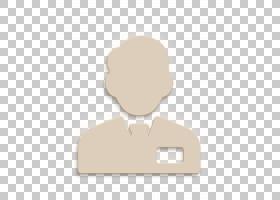 人物图标推销员图标带领带的职员图标,剪影,云,手指,手,徽标,动画
