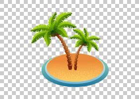 棕榈树背景,槟榔,树,花盆,植物,棕榈树,文档,BBCode,岛,