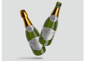 香槟瓶模型