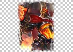 夏侯��-战争骑士王者荣耀游戏角色皮肤原画图片