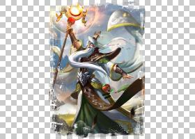 姜子牙-太古魔导王者荣耀游戏角色皮肤原画图片