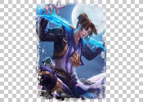 孙悟空-至尊宝王者荣耀游戏角色皮肤原画图片