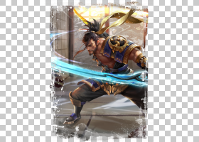 宫本武藏-剑圣王者荣耀游戏角色皮肤原画图片