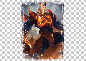 铠-龙域领主王者荣耀游戏角色皮肤原画图片