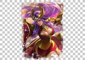 雅典娜-圣域余晖王者荣耀游戏角色皮肤原画图片