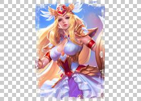 雅典娜-战争女神王者荣耀游戏角色皮肤原画图片