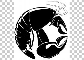 海鲜背景,头盔,黑色,机翼,剪影,黑白,徽标,海鲜,杂志,龙虾,