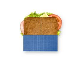健康早餐外观包装LOGO展示样机