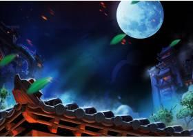 夜空游戏场景插画