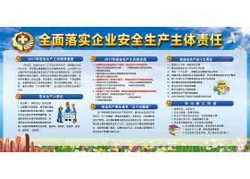 安全生产月主题展板宣传栏
