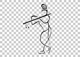 甘尼萨线条艺术,机翼,颈部,黑白,线路,关节,手,白色,手指,黑色,手