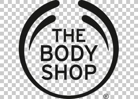Body Shop徽标,符号,幸福,标志,微笑,面积,线路,圆,黑白,文本,Fac