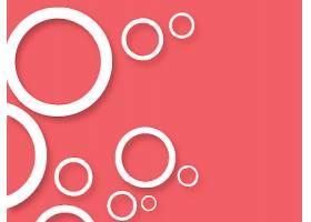 创意圆圈西瓜红背景素材