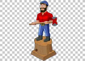 家庭卡通,保罗・皮尔斯,家庭男,伐木工人,巨人,性格,卡通,Paul Bu