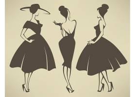 时尚性感卡通美女设计
