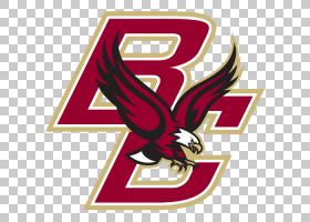 美国足球背景,红色,机翼,线路,徽标,符号,贴纸,波士顿学院鹰队,波
