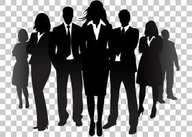 商务女性,男性,商业顾问,团队,对话,白领工人,黑白,专业,作业,人图片