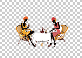 咖啡馆背景,卡通,椅子,表,坐着,娱乐,老城白咖啡,吃饭,女人,自助
